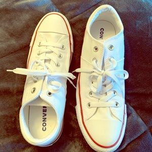 Classic white converse